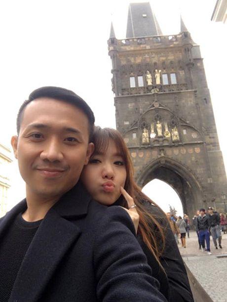 Phot lo thong tin le cuoi, Tran Thanh hen ho Hari o Paris - Anh 8