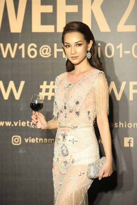 Dan hoa, a hau kieu sa tren tham do Vietnam International Fashion Week - Anh 11
