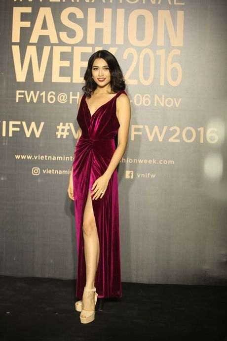 Dan hoa, a hau kieu sa tren tham do Vietnam International Fashion Week - Anh 1