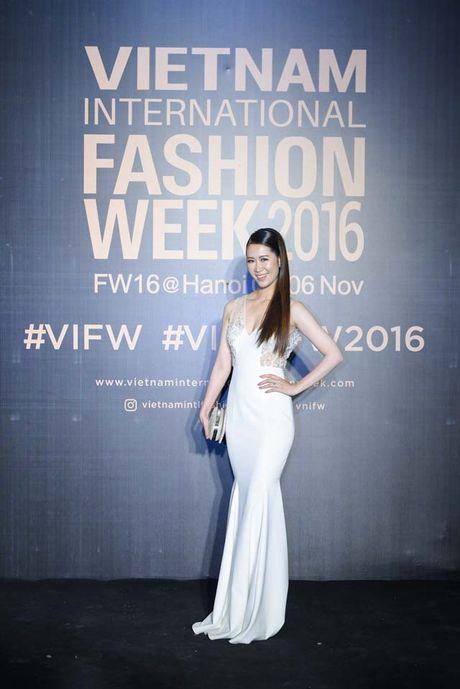 Dan hoa, a hau kieu sa tren tham do Vietnam International Fashion Week - Anh 6