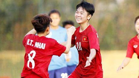 U19 nu Viet Nam thang tung bung truoc U19 An Do - Anh 1