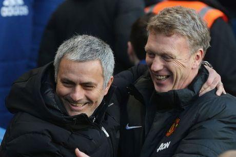 Moyes dat niem tin o Mourinho - Anh 1
