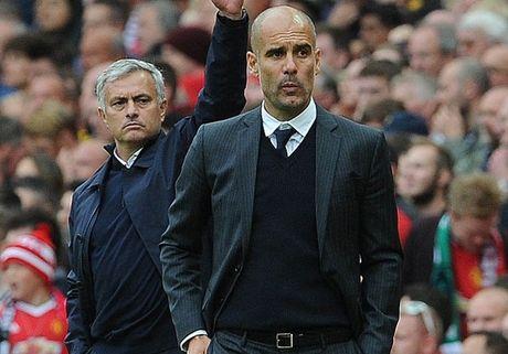 Pep Guardiola van duoi co Mourinho - Anh 1
