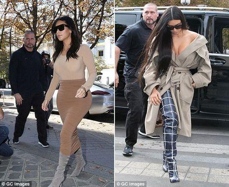Kim Kardashian sa thai ve si lau nam sau vu cuop o Paris - Anh 2