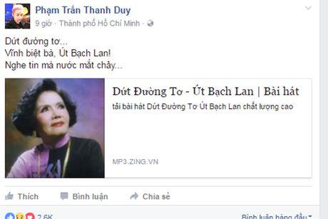 Nghe si Viet tiec thuong 'sau nu' Ut Bach Lan qua doi - Anh 10