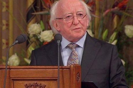 Tong thong Ireland Michael D.Higgins bat dau tham Viet Nam - Anh 1