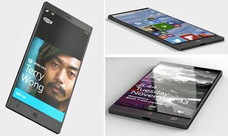 Microsoft sap ra mat smartphone moi chay Windows 10 Mobile - Anh 1