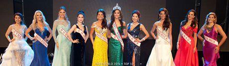 Nguoi mau Peru dang quang Hoa hau Quy ba The gioi 2016 - Anh 2