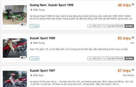 Vi sao Suzuki Sport cu co gia dat hon ca Honda Air Blade? - Anh 1