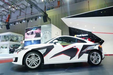 Ngam Audi TT 2016 voi 'bo ao' kieu camo - Anh 3
