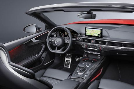 Trinh lang Audi A5 Cabriolet va S5 Cabriolet 2017 the he moi - Anh 10
