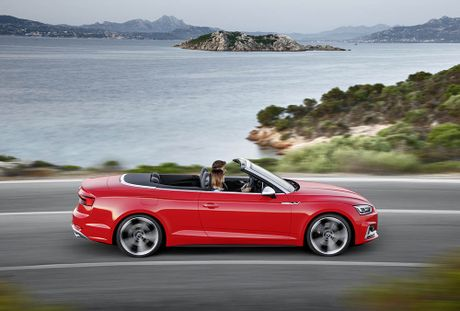 Trinh lang Audi A5 Cabriolet va S5 Cabriolet 2017 the he moi - Anh 14