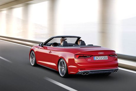 Trinh lang Audi A5 Cabriolet va S5 Cabriolet 2017 the he moi - Anh 15
