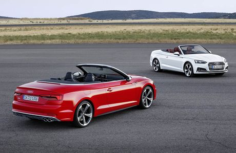 Trinh lang Audi A5 Cabriolet va S5 Cabriolet 2017 the he moi - Anh 1