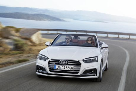 Trinh lang Audi A5 Cabriolet va S5 Cabriolet 2017 the he moi - Anh 3