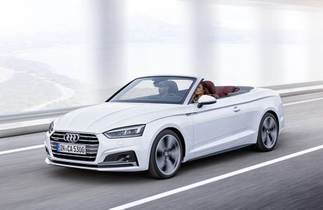 Trinh lang Audi A5 Cabriolet va S5 Cabriolet 2017 the he moi - Anh 4