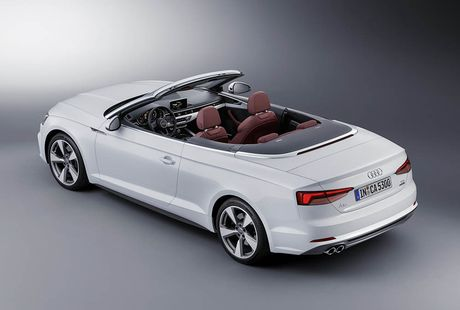 Trinh lang Audi A5 Cabriolet va S5 Cabriolet 2017 the he moi - Anh 5