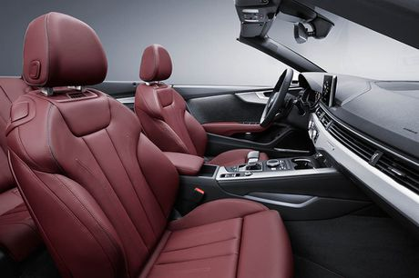Trinh lang Audi A5 Cabriolet va S5 Cabriolet 2017 the he moi - Anh 7