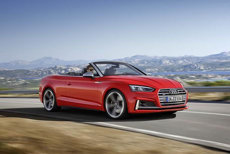 Trinh lang Audi A5 Cabriolet va S5 Cabriolet 2017 the he moi - Anh 8