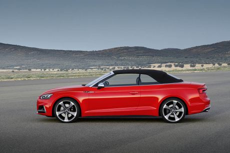 Trinh lang Audi A5 Cabriolet va S5 Cabriolet 2017 the he moi - Anh 9