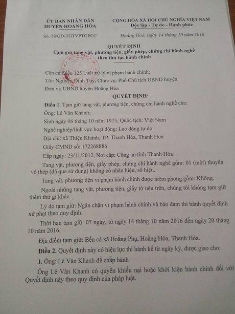 """Thanh Hoa: """"Cat tac"""" chong doi luc luong chuc nang - Anh 4"""