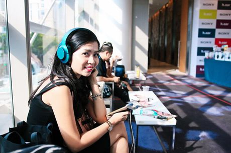 Nghe nhac 'da tai' tai Portable Audio Show Ha Noi 2016 - Anh 1
