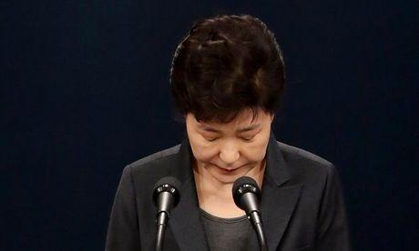 Tong thong Park Geun Hye xin ta loi voi nguoi dan Han Quoc - Anh 1