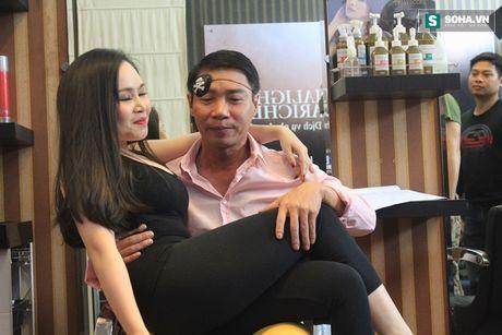 'Canh' nong bong cua Cong Ly va ban gai - Anh 10