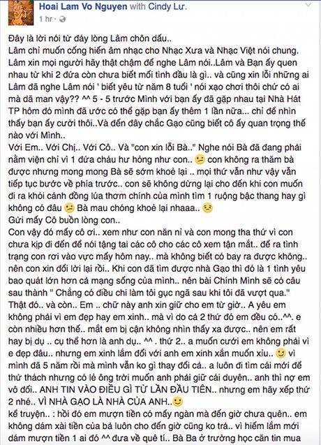 Hoai Lam khang dinh da yeu ban gai 5 nam va dang muon lam dam cuoi - Anh 2