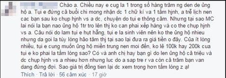 Xem cach Noo Phuoc Thinh tra loi viec fan phai mua dia 1 trieu moi duoc chup hinh cung - Anh 3