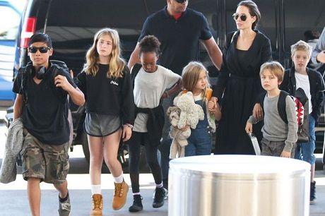 Con trai goc Viet cua Angelina Jolie muon duoc song cung Brad Pitt - Anh 2