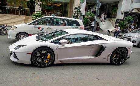 Lamborghini Aventador dau tien Viet Nam doi mau - Anh 2
