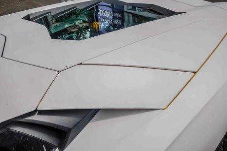 Lamborghini Aventador dau tien Viet Nam doi mau - Anh 5