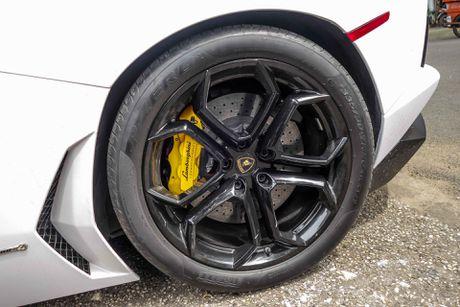 Lamborghini Aventador dau tien Viet Nam doi mau - Anh 7