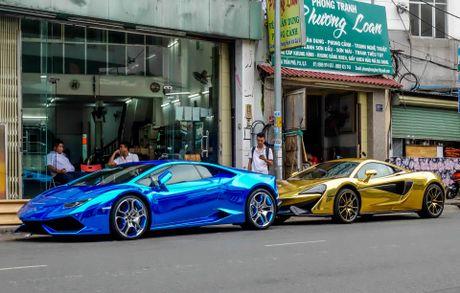 McLaren cu cua Cuong Do La ma vang phong cach A Rap - Anh 3