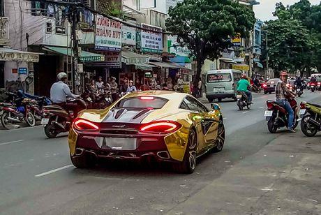 McLaren cu cua Cuong Do La ma vang phong cach A Rap - Anh 8