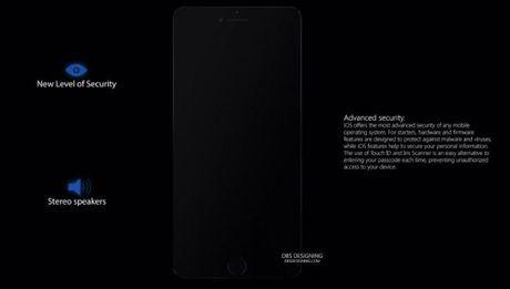 Y tuong iPhone SE 2017 man hinh 5,2 inch khong vien - Anh 2