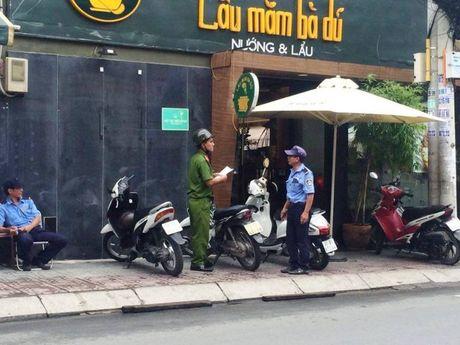 Hon chien o nha hang Sai Gon, 3 nguoi thuong tich - Anh 1