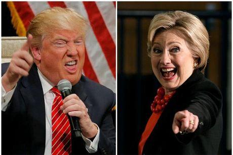 Hillary va Trump bam duoi nhau sat sat - Anh 1