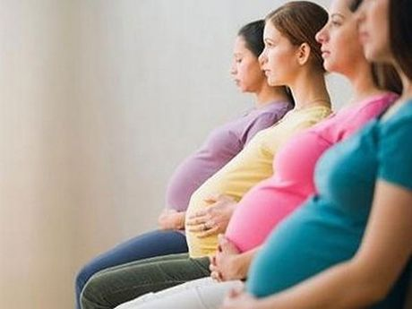 42% phu nu mang thai bi thieu mau - Anh 1