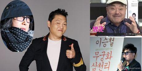 PSY va nhieu sao Han lo so truoc 'be boi Choi Soon-sil' - Anh 1