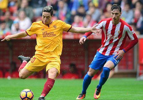 Busquets va Nasri se quyet dinh thanh bai o cuoc chien Sevilla - Barcelona - Anh 1