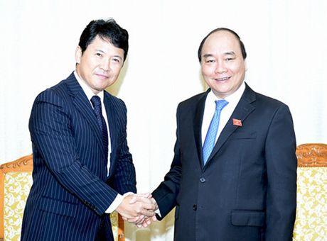 Thu tuong tiep Cong su Dai su quan Nhat Ban - Anh 1