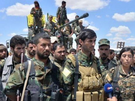 Syria: Cac luc luong SDF bat dau chien dich tai chiem Raqqa - Anh 1