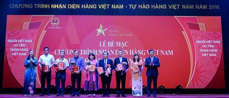 Be mac chuong trinh 'Nhan dien hang Viet Nam 2016' - Anh 1