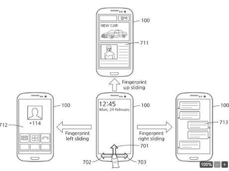 Samsung Galaxy S8 se co nut van tay moi - Anh 1