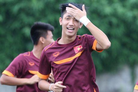 Huong Giang Idol to tinh voi thu quan U19 Viet Nam - Anh 1