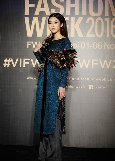 Cham diem nhung lan hoa hau Do My Linh mac ao dai - Anh 1