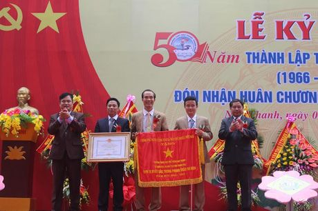 Thanh Hoa: Truong THPT Nhu Thanh don nhan Huan chuong Lao dong hang Nhat - Anh 1