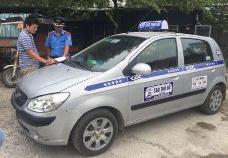 Taxi ngoai tinh - ap luc lon cho giao thong Thu do - Anh 2